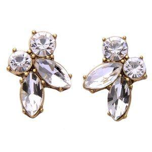 Kate Spade Crystal Cluster Earrings